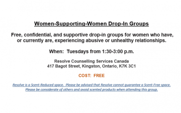 Women-Supporting-Women Drop-In Group
