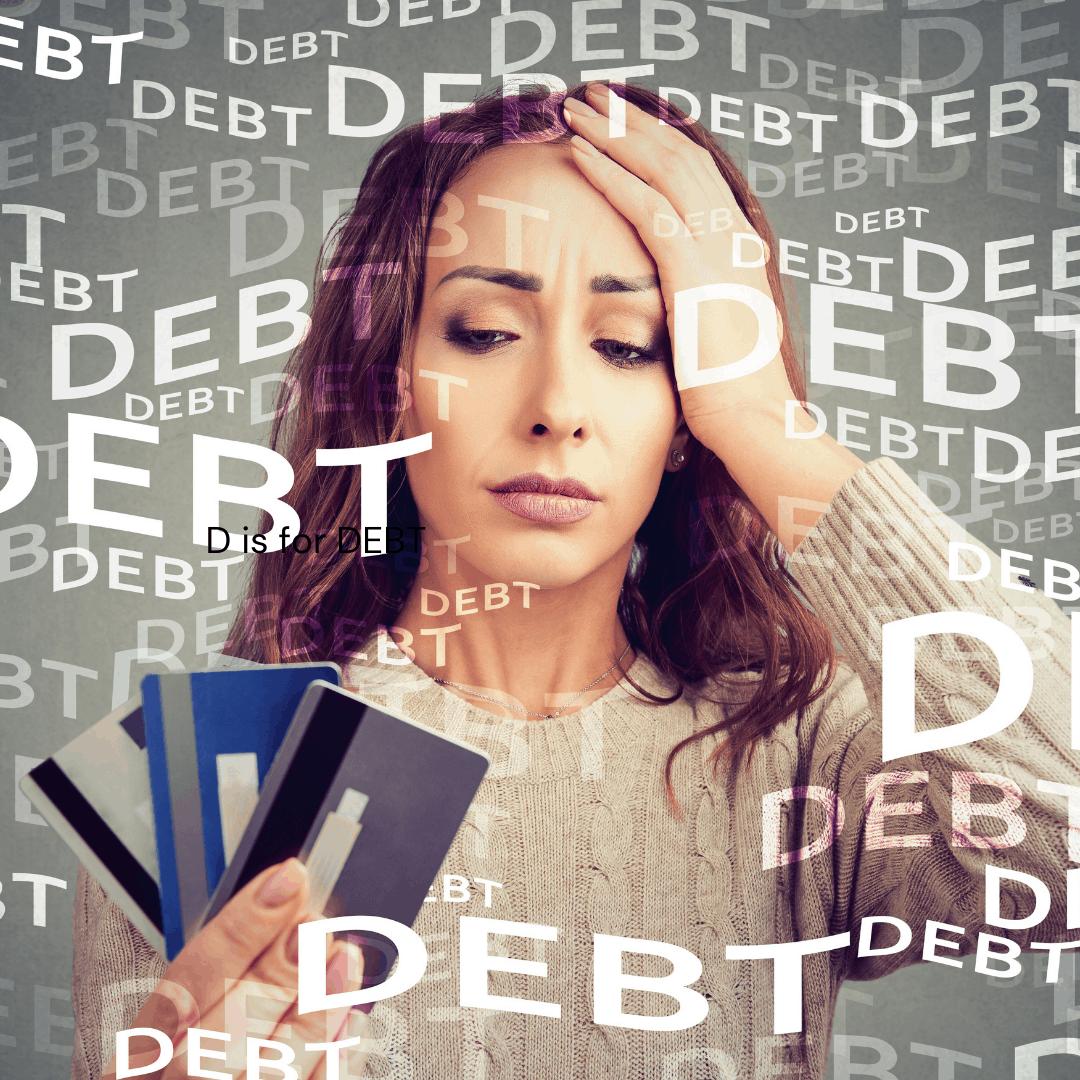 credit card debt.