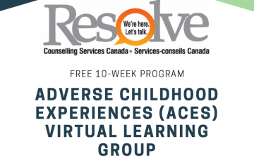 Adverse Childhood Experiences (aces) Virtual Learning Group