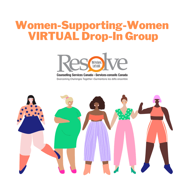 Women-Supporting-Women VIRTUAL Drop-In Group